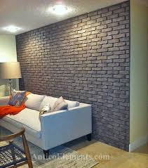 gorgeous interior brick wall panels and best 25 faux brick wall