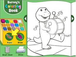 barney color game to14 play
