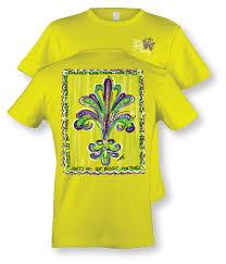 mardi gras apparel fleur de lis mardi gras printed t shirt got in sizes