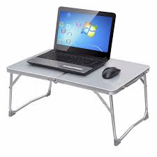 Portable Desk For Laptop Notebook Computer Desk 360 Rolling Adjustable Picnic Folding