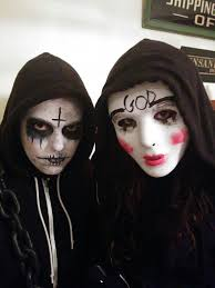 Scary Halloween Costumes Girls 25 Purge Costume Images Halloween Ideas