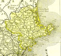 Plymouth Massachusetts Map by Massachusetts Maps