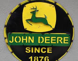 John Deere Home Decor John Deere Etsy
