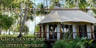 Tent Building Exclusive Tents Ultra Luxury African Canvas Safari Tents Eco