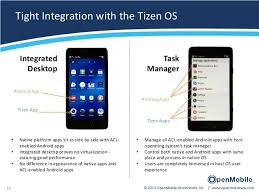 tizen vs android openmobile acl for tizen android apps on tizen
