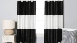 Amazon White Curtains Curtains Panel Atlantis Blackgrayivory Curtain Panel Amazing
