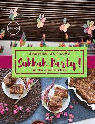 sukkah sale sukkah party shulflyers