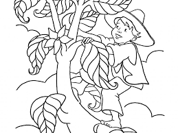 spider coloring pages jack and the beanstalk story sequence easy