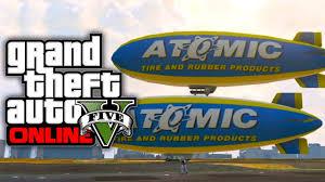 gta 5 online how to get the atomic blimp gta v youtube