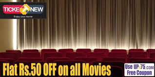 ticketnew coupons online movie tickets booking offers deals