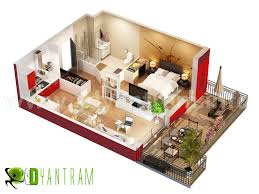 designing modern home using best free floor plan software with 3d