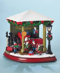 christmas music boxes lighted u0026 animated musical decorations