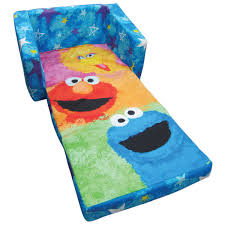 Flip Open Sofa For Kids by Sesame Street Kids Flip Out Sofa Big W