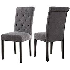 All Wood Dining Room Chairs by Amazon Com Merax Script Fabric Accent Chair Dining Room Chair