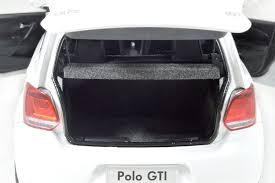 volkswagen polo trunk diecast model 1 18 scale volkswagen vw polo gti 2012 white alloy