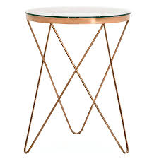 Glass Top Side Table Gold Metal And Glass Side Table Metal Frame Glass Top Coffee Table