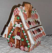 gingerbread candyland house cookie candy jar large antique