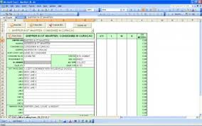 Bill Of Lading Template Excel Bill Of Lading Excel Bill Of Lading Template