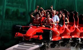 roller coaster abu dhabi speed the formula rossa is the fastest roller coaster in the