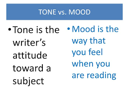 mood and tone 7th grade esol class lessons tes teach