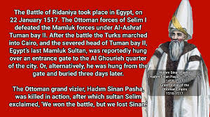 Ottoman Empire Facts History Facts On On 22 Jan 1517 The Ottoman Empire