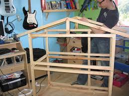 construire son chalet en bois construire un clapier le blog de camille