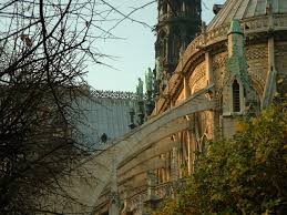 flying buttresses of notre dame on freemages