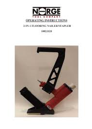 flooring101 norge 2 in 1 flooring nailer stapler manual buy