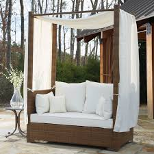 Daybed With Canopy Panama Jack St Barths Daybed With Cushion And Curtains U0026 Reviews