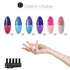 perfect summer pro uv led gel nail polish kit temperature mood