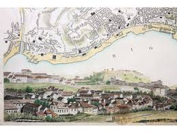 Paper Town Map Antique Map History Town Plans From The Past Mapandmaps Com