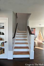 Manhattan Mist Behr by Diy Staircase Remodel