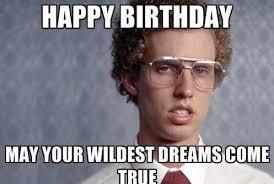 Birthday Gift Meme - funny happy birthday meme for boyfriend feeling like party