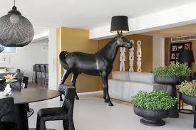 non random small black suspension lamp by bertjan pot for moooi
