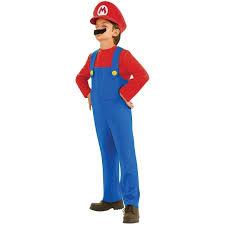 Rubies Super Mario Brothers Nintendo Halloween Child Toddler Boys