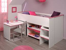 Midi Bed With Desk Mid Sleeper Bunk Beds