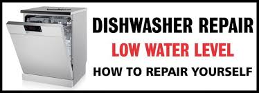 Frigidaire Dishwasher Not Pumping Water Dishwasher Low Water Level What To Check Removeandreplace Com