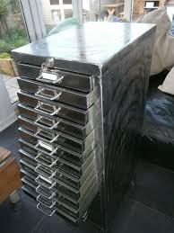 Retro Filing Cabinet Industrial Vintage 21 Drawer Filing Cabinet Polished The Vintage