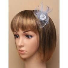 small fascinators for hair silver hair fascinator ebay