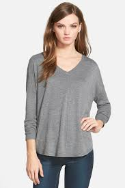 trouve sweater trouve everyday v neck sweater nordstrom rack
