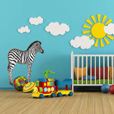 zebra baby wall sticker see how to create a jungle themed wall mural