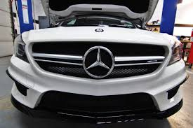 mercedes f series mercedes cla45 amg intake r d part 1 stock system and initial