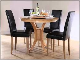 small round kitchen table with 4 chairs solid wood round dining