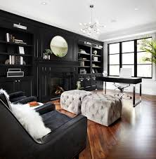 Black Furniture Living Room Ideas Living Room Design Luxury Office Decor Design Of Living