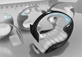 Aircraft Interior Design This Design Of An Innovative Aircraft Seat Stole The Show At The