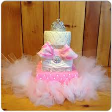 winter wonderland baby shower cake tulle tutu edible princess