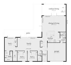 floor plans 3 bedroom ranch enchanting building l shaped 3 bedroom house plans pictures best