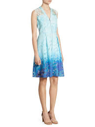cool dresses elie tahari ombre textured dress cool water women s dresses day