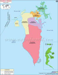Africa Map Blank Pdf by Blank Map Of Bahrain Bahrain Outline Map