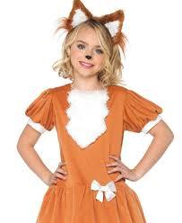 Fox Halloween Costume Kids Friendly Fox Kids Costume Leg Avenue C48189